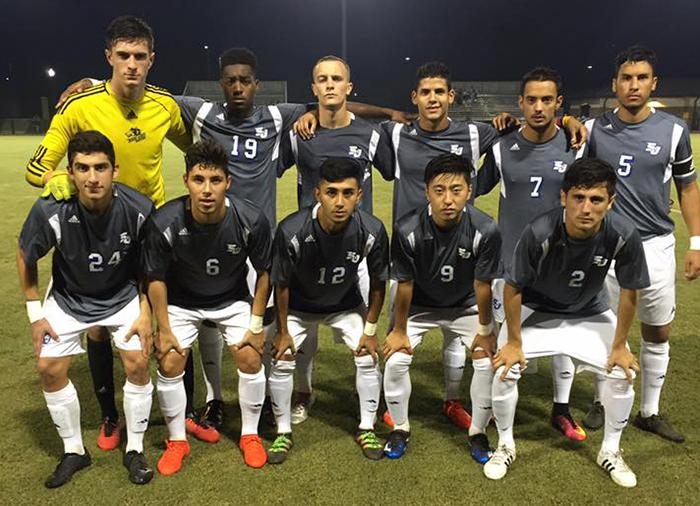The+San+Jac+soccer+team%2C+pictured+here+in+August%2C+takes+on+Tyler+Junior+College+Nov.+18+for+a+spot+in+the+NJCAA+National+Championship+finals.+