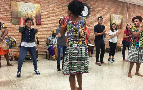 African Dance Finale Wraps up Black History Month Events