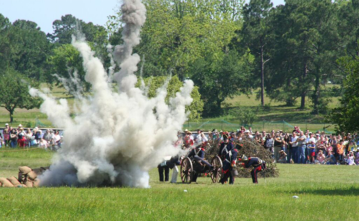 The+San+Jacinto+Day+Festival+and+Battle+Reenactment+will+take+place+from+10+a.m.+to+6+p.m.+on+April+22.