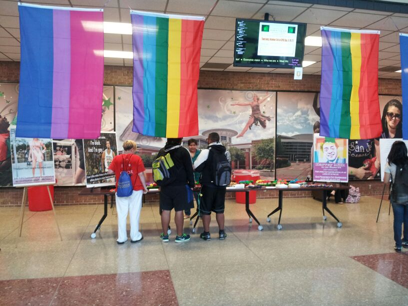 The+yearly+LGBT+event+aims+to+promote+acceptance.