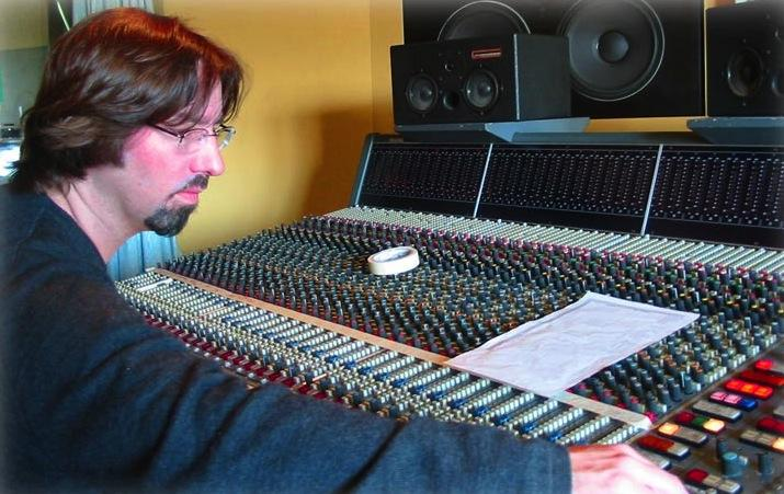 Producer+David+Eaton+engineers+magic+in+the+studio.