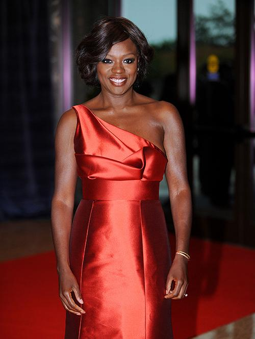 Viola Davis, star of the new ABC drama 'How to Get Away with Murder' attends the White House Correspondents Dinner in 2012.