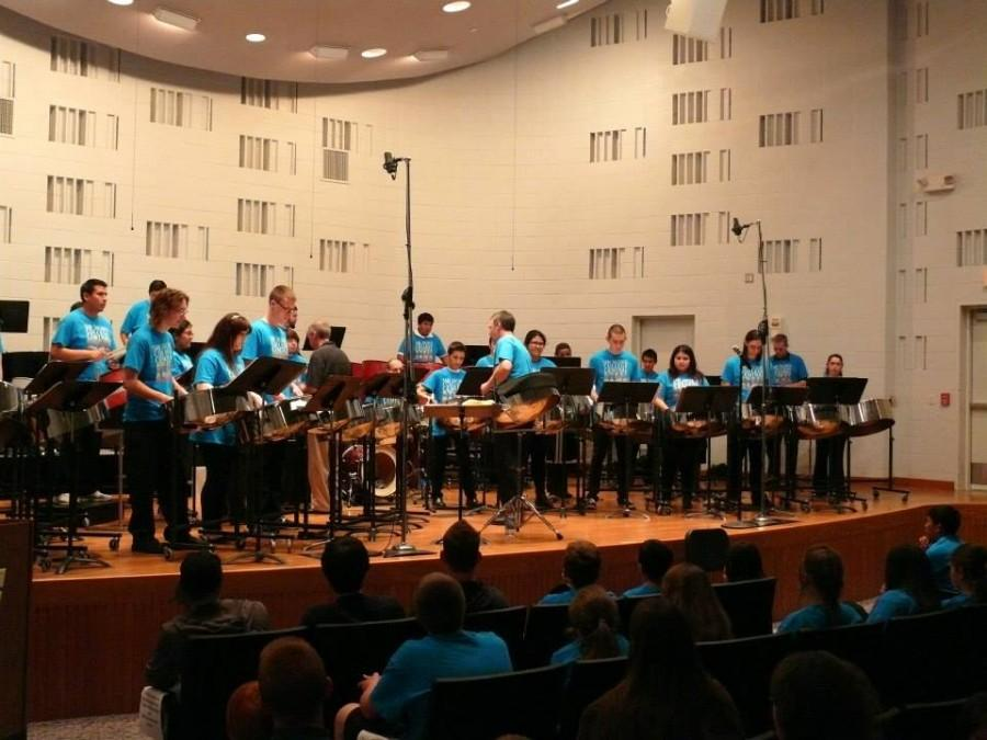 The SJCC Steel Drum Band will provide part of the entertainment for the Music and Audio Engineering Department's scholarship fundraiser.