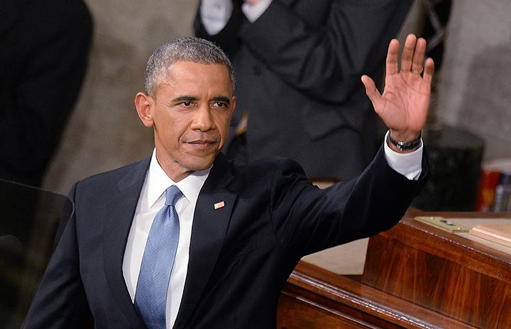 President Barack Obama delivers the State of The Union address on Tuesday, Jan. 20, in the House Chamber of the U.S. Capitol.