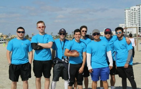 San Jac Football team participants pose for a photo during last year's event in Galveston. From left: Jonathan Martinez, Greg Brotzman, Evan Christopherson, Jorge Vallitera, Huynh Vo, Johnny Vo, Dalton Boyd.