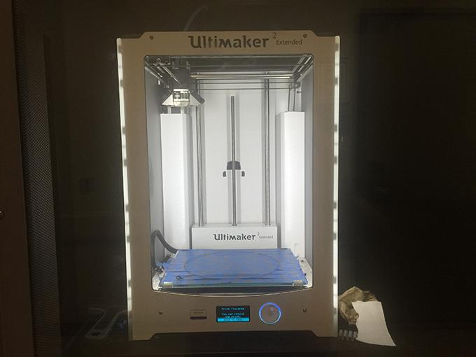 South campus's Ultimaker arrived at the Flickinger Fine Arts Center Aug. 21.