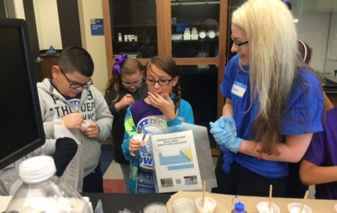 Central Hosts Elementary School for Day of Science
