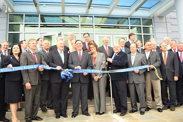 Elected officials and industry leaders were in attendance March 8 at a grand opening ceremony to officially open San Jacinto College's newest campus.