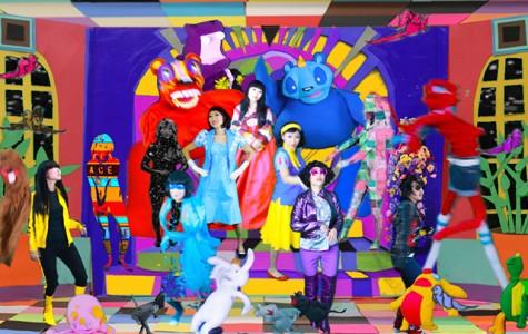 Artist's 'Fun' Work Spotlights Strong Message at South