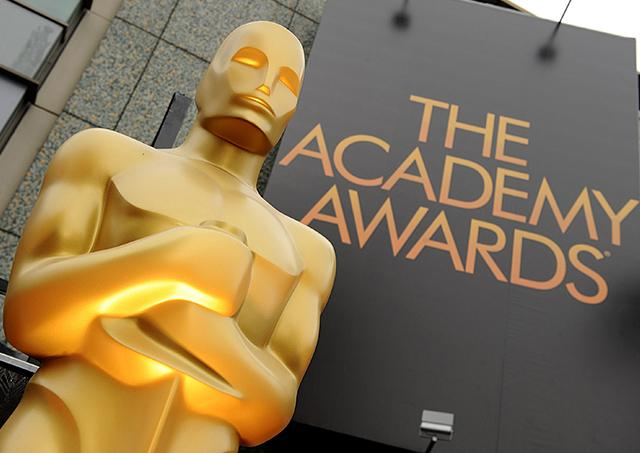 The famous gold statue stands outside the 84th Annual Academy Awards show at the Hollywood and Highland Center in Los Angeles, Calif. The Pasadena Philharmonic Society will present a concert titled 'And the Oscar goes to …' May 15 on the Central campus.