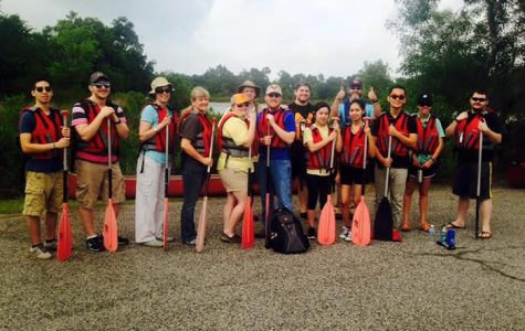 Campus Rec Set to Canoe Down Armand Bayou