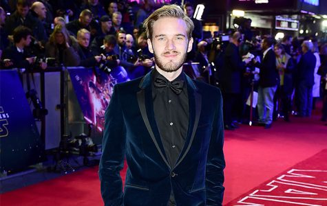 Controversial online celebrity Felix Kjellberg attends the London premier of Star Wars: The Force Awakens on Dec. 16, 2015. In the latest of a series of offensive incidents, a video of the star using a racial slur went viral costing Kjellberg several lucrative deals.