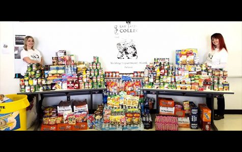 Food Pantry Restocks with Thanksgiving Drive