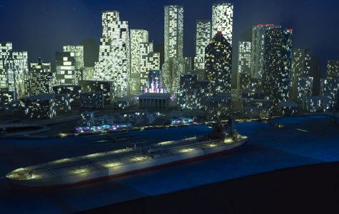 'Energy City,' one of the many new features at Wiess Energy Hall, is a 'white model' that uses cutting-edge projection mapping technology to bring the city of Houston to life.