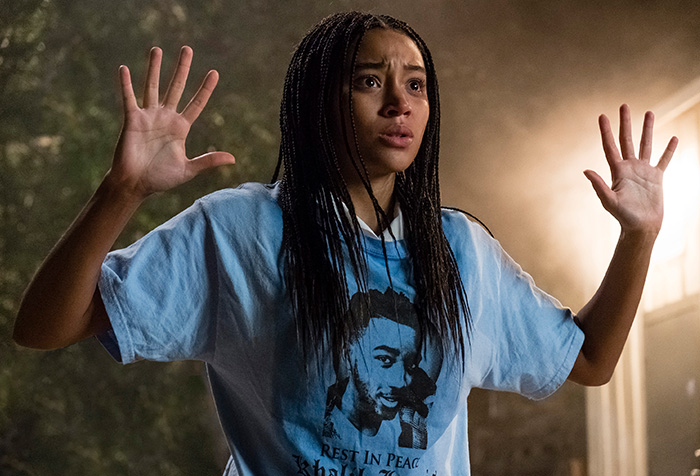 Amandla Stenberg stars as a young woman struggling to find her voice as she faces mounting pressure to react to the fatal shooting of her childhood friend. The film will be shown on the North, South, and Central Campuses.