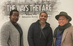 The Ways They Are features the artwork of (from left) Carris Adams, Sebastien Boncy, and Matt Manalo.