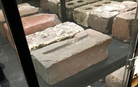 Artist Alexander Squier was inspired to create Earthly Bodies: The Houston Brick Archive while working on a cultural project in the Sharpstown area and saw old homes, once the symbol of wealth, demolished down to bricks.